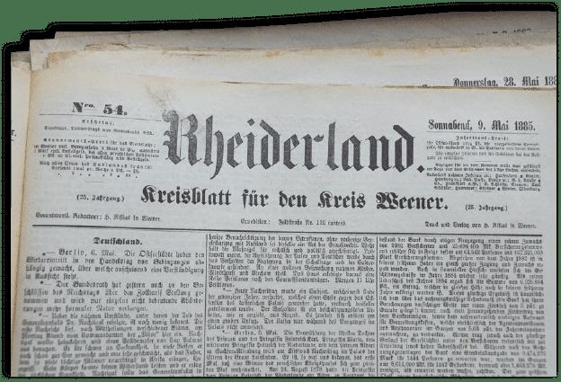 """Die RZ wird zum """"Amtsblatt"""""""